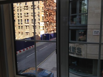 Nadler Hotel Victoria review - View Construction