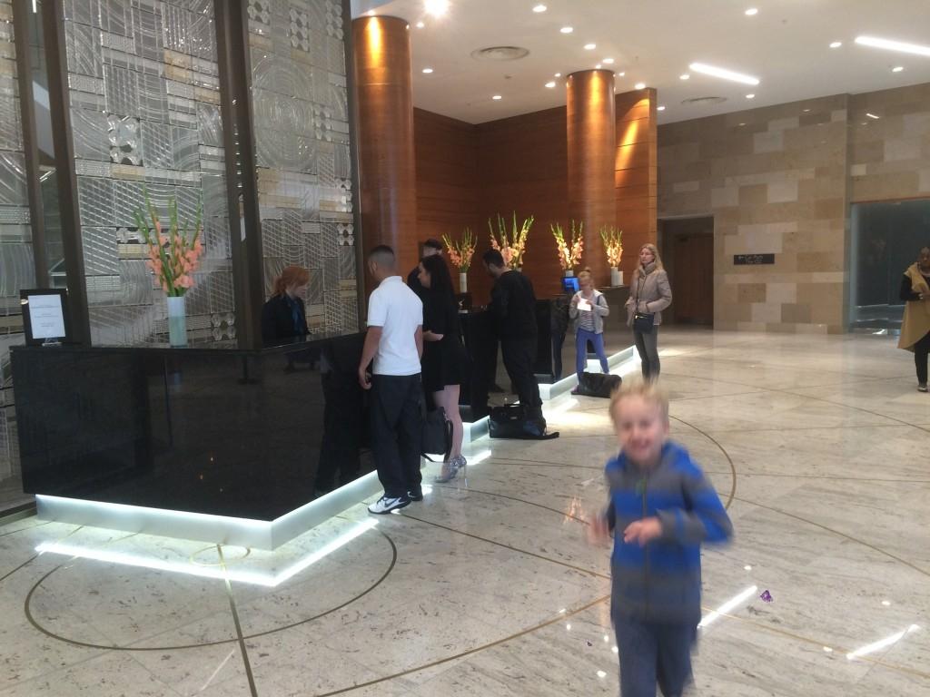 InterContinental London O2 review lobby