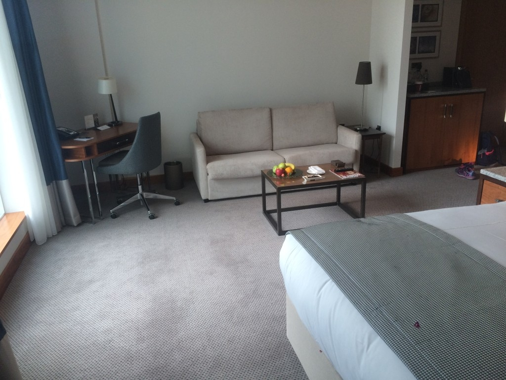 InterContinental London O2 review suite