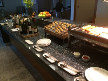 InterContinental London O2 review club lounge