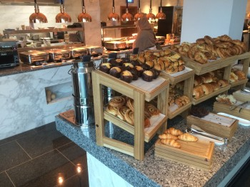 InterContinental London O2 review breakfast