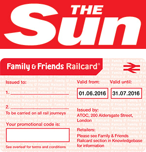 Senior Railcard discount code / £20 OFF 3-year and 10% OFF 1-year exclusive online offers. Senior Railcard holders for over 60s enjoy 1/3 OFF train tickets in Britain. SAVE £* and more with unlimited savings on rail journeys. Save online with the latest deals, discounts, promotions and offers!
