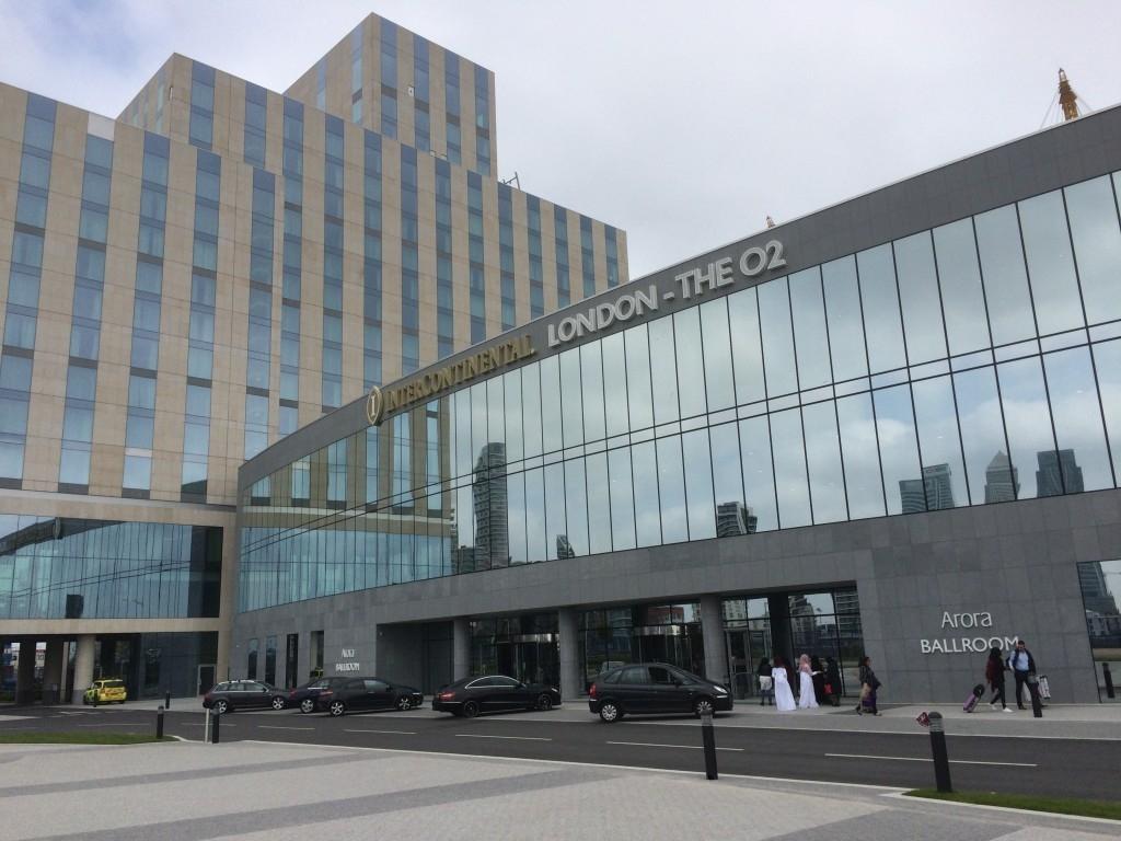 InterContinental London O2 review exterior