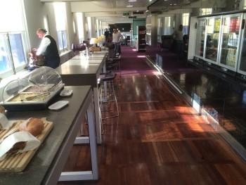Eurostar lounge London St Pancras review