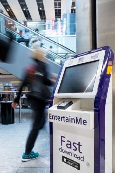 Heathrow kiosk
