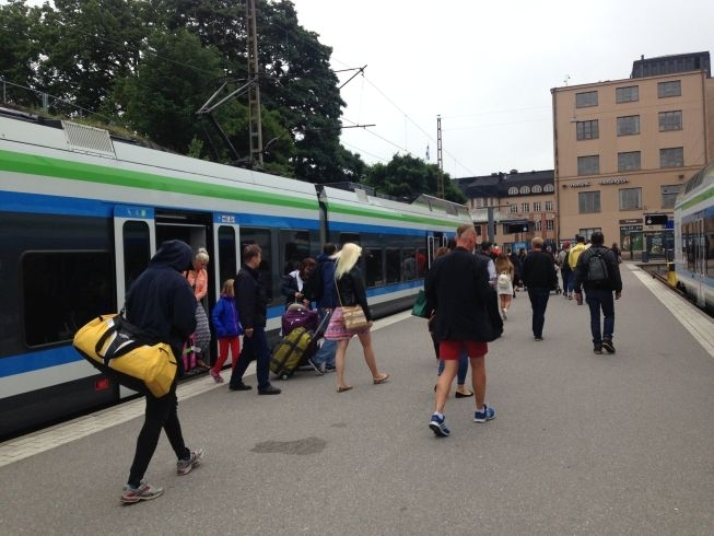 Helsinki Train station train