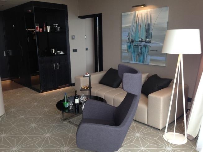 Hilton tallinn park hotel review living room suite