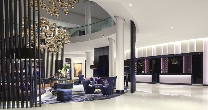 hilton tallinn park hotel review entrance lobby