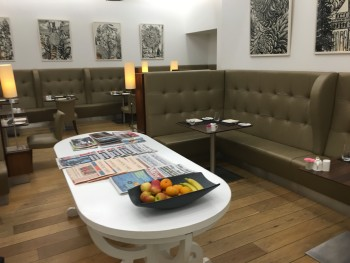 British Airways arrivals lounge Heathrow Terminal 5 review