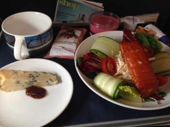BA salmon salad