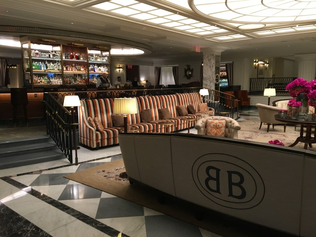 Review of InterContinental New York Barclay hotel bar