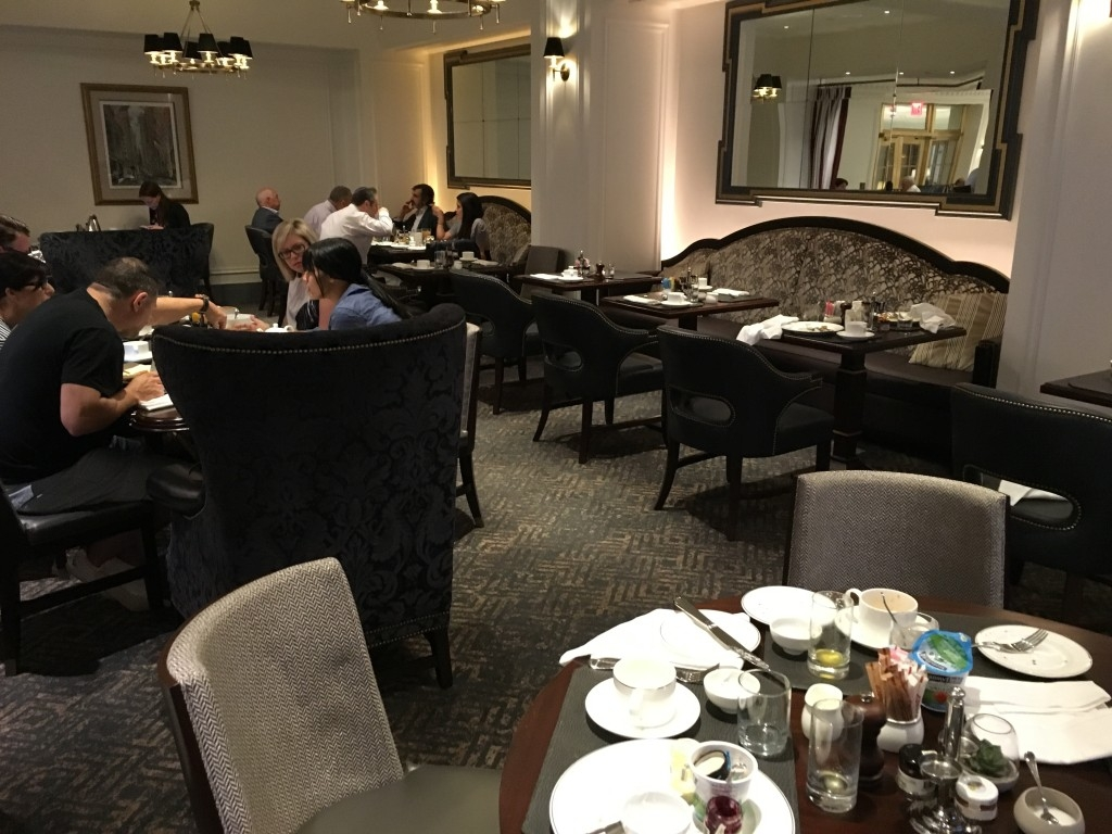 Review of InterContinental New York Barclay hotel restaurant
