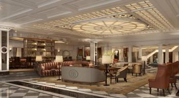 InterContinental New York Barclay lobby