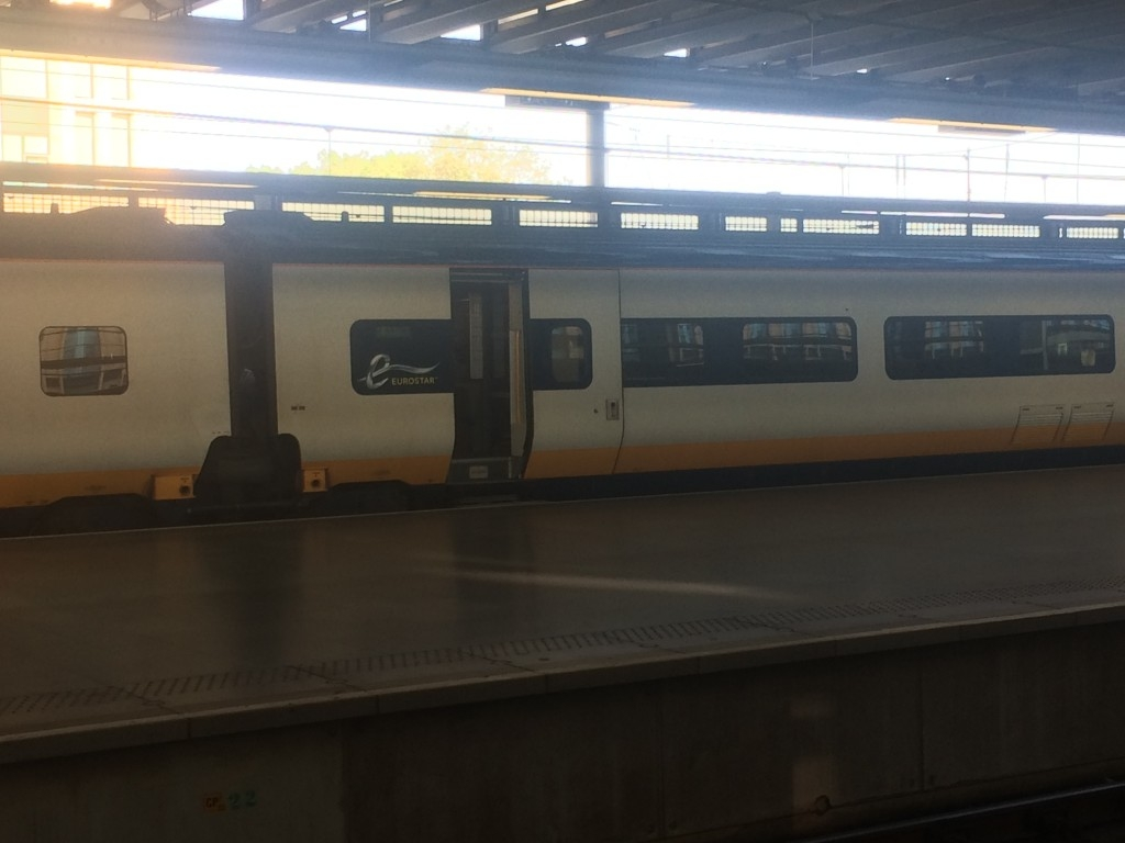 Eurostar Business Premier review e320 new trains