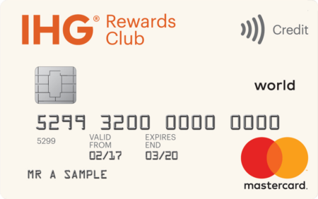 IHG Rewards Club credit card free