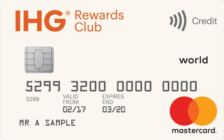 Special bonus on the IHG Rewards Club Mastercard credit card