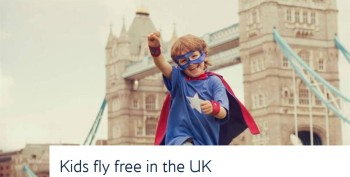 Kids Fly Free British Airways