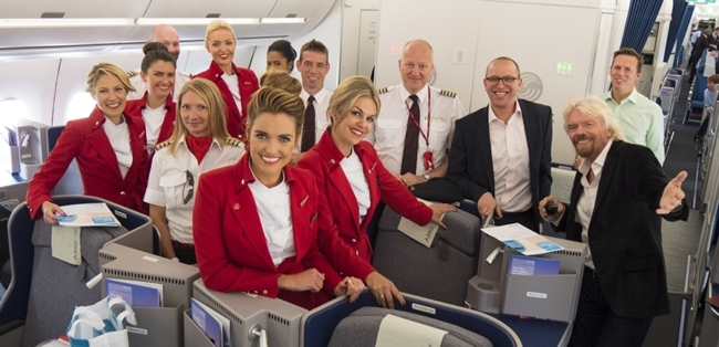 Virgin Atlantic A350 order
