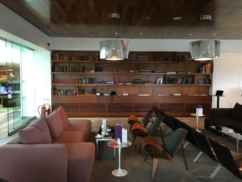 Review Virgin Atlantic Clubhouse lounge Heathrow Terminal 3