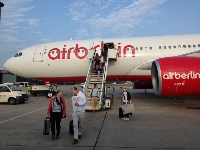 airberlin new york berlin airplane