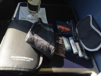 airberlin new york berlin wash bag wolfgang joop