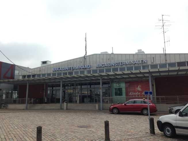 helsinki ferry terminal linda line