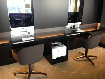 hilton tallinn park executive lounge review Computer and printer
