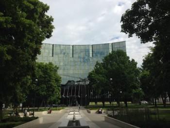 hilton tallinn park review exterior daytime