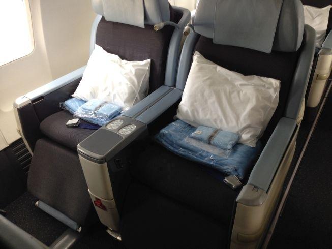 la compagnie airplane seat