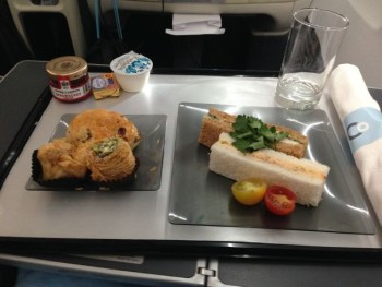 la compagnie flight plane food sandwich