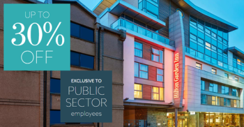 30% off UK and European Hiltons for public sector workers