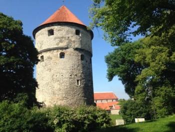 tallinn estonia old town kiek in de koek
