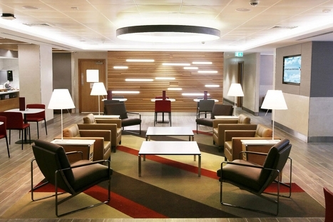 American Airlines Heathrow Arrivals Lounge t3 2