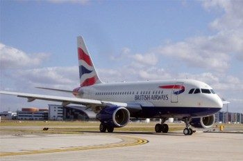 British Airways City Airport A318