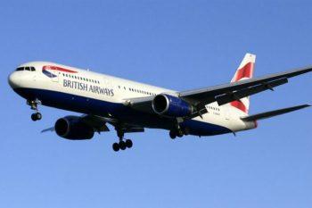 Final British Airways 767 flight
