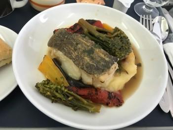 BA Club Europe food