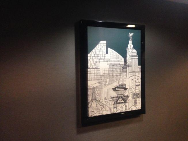 aloft liverpool hotel review artwork local artist