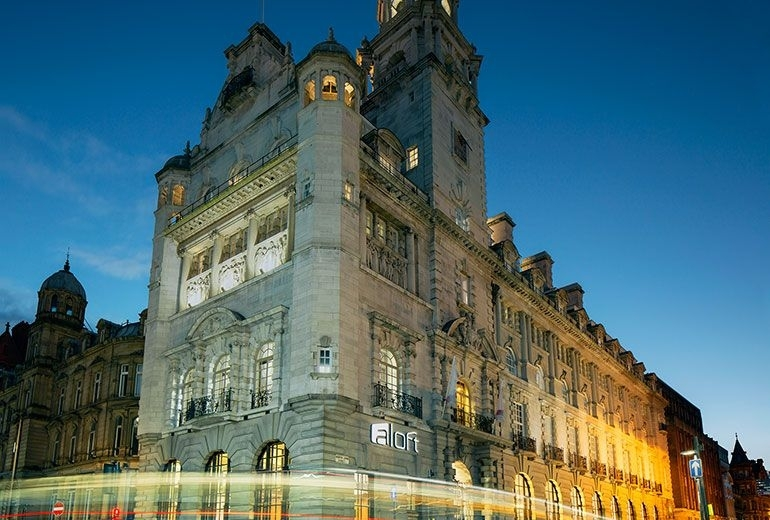 aloft liverpool hotel review exterior