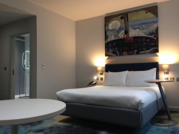 ibis styles heathrow airport review my room bed