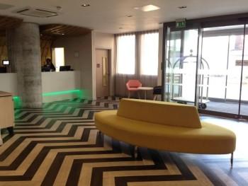 ibis styles heathrow airport review reception area
