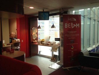 virgin trains first class lounge manchester piccadilly review beam