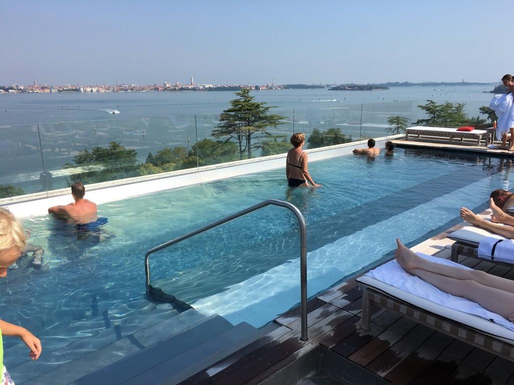 JW Marriott resort hotel Venice rooftop pool