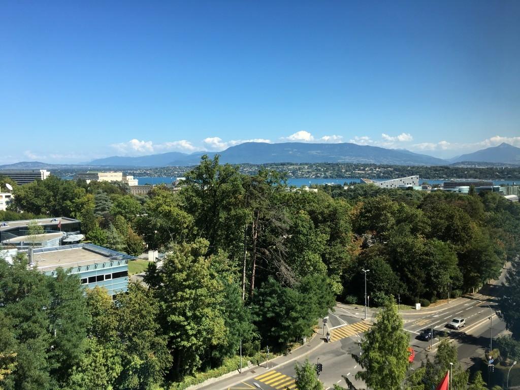 InterContinental Geneva review view