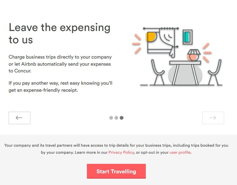 Earn 38 of free airbnb credit as a business traveller for Airbnb how to pay