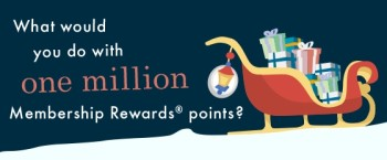 Win one million membership rewards points