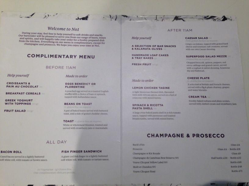 no-1-lounge-gatwick-south-food-menu