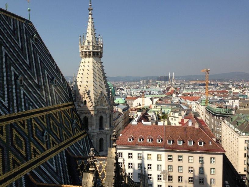Vienna Wien St Stephens Viewing Platform