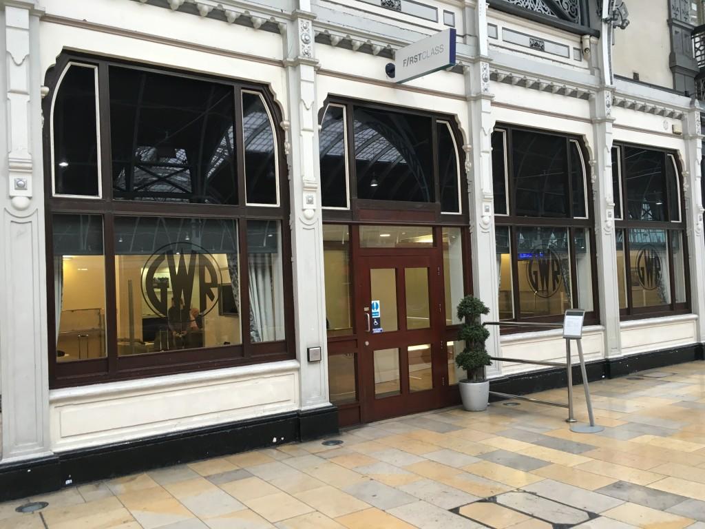 c74cfe7f9e Great Western First Class lounge Paddington Station London