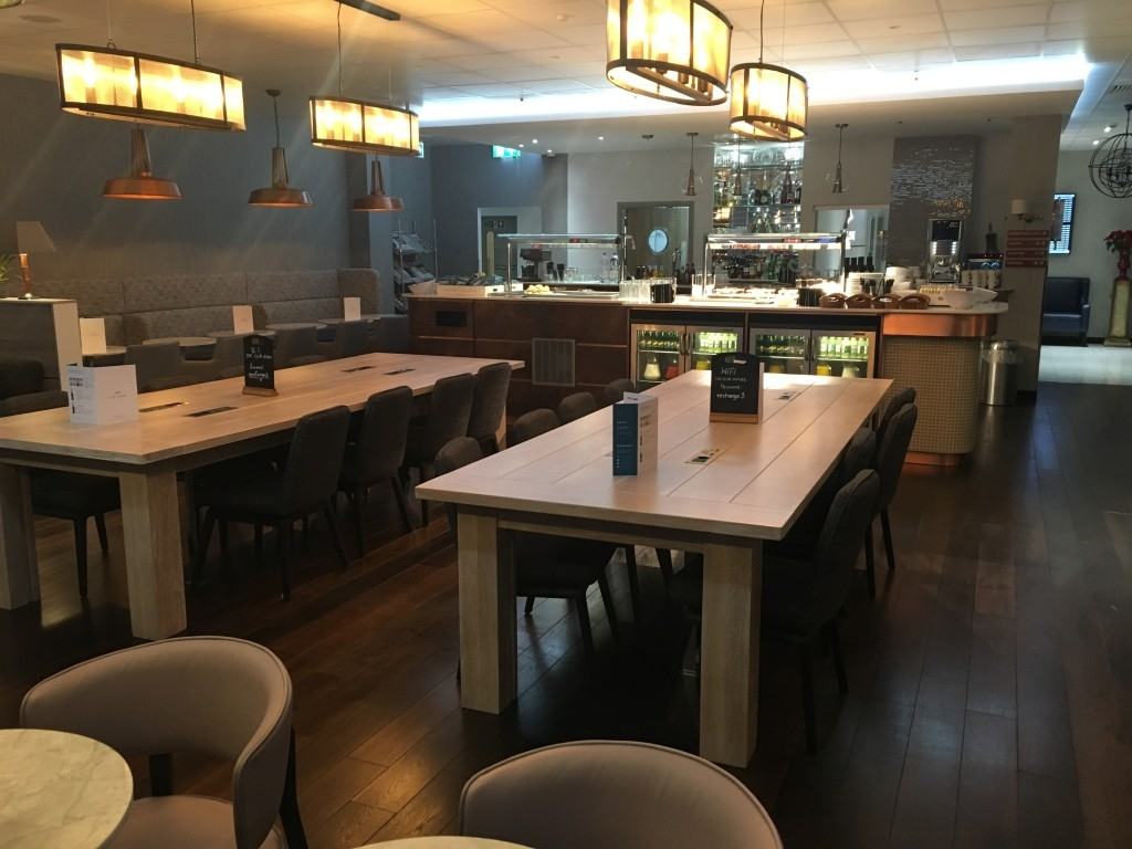 Review Club Aspire lounge Heathrow Terminal 3