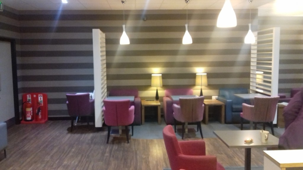 Aspire lounge Liverpool John Lennon Airport review